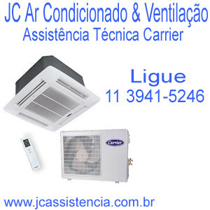 Assistência Técnica Ar Condicionado Carrier